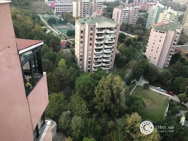 آپارتمان دو خوابه، ۹۰ متری، دست دو در استانبول