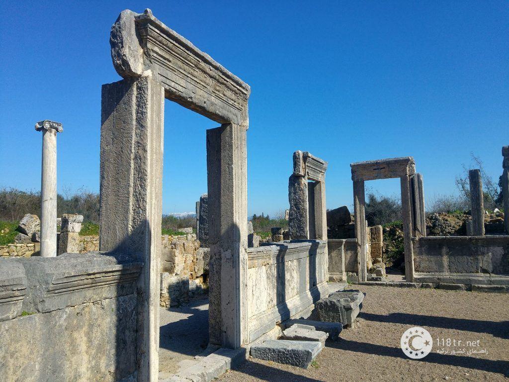 شهر باستانی پرگا در آنتالیا 2