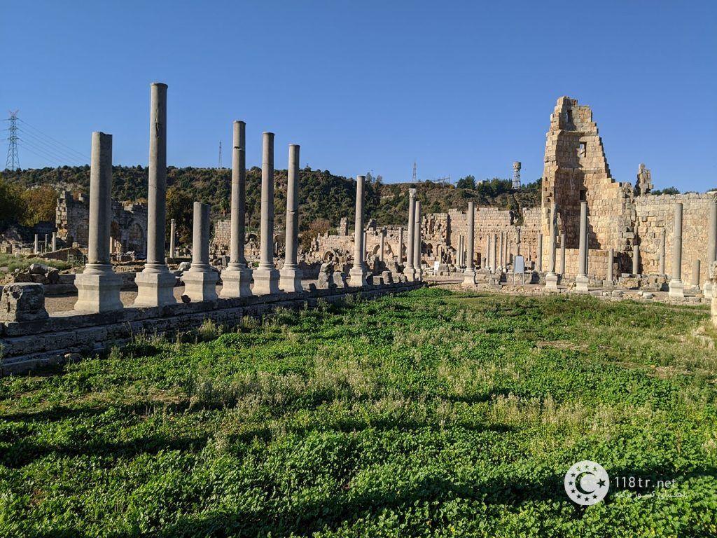 شهر باستانی پرگا در آنتالیا 1