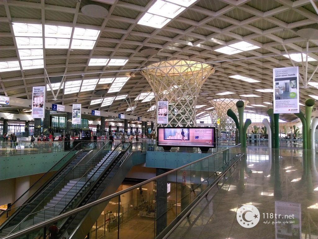 مهم ترین فرودگاه های ترکیه 8