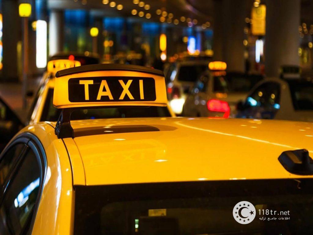 معرفی تاکسی های اینترنتی ترکیه 1