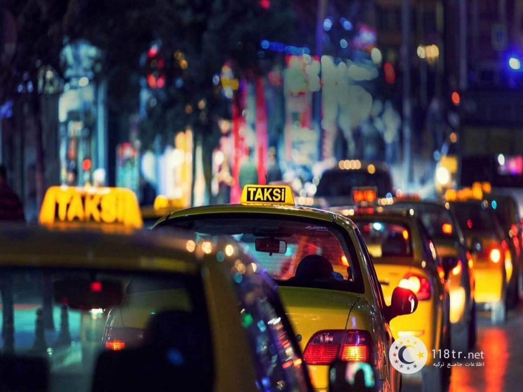تاکسی های اینترنتی ترکیه