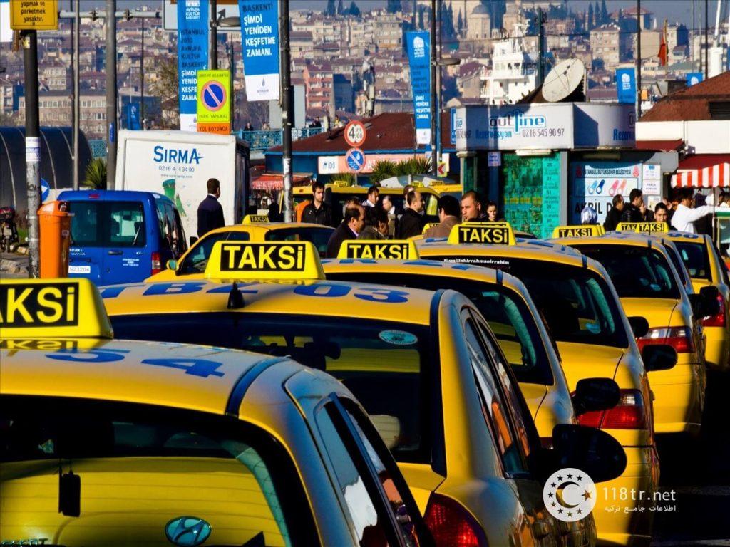 معرفی تاکسی های اینترنتی ترکیه 5