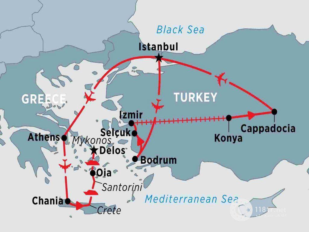 روابط دو همسایه قدیمی، یونان و ترکیه 3