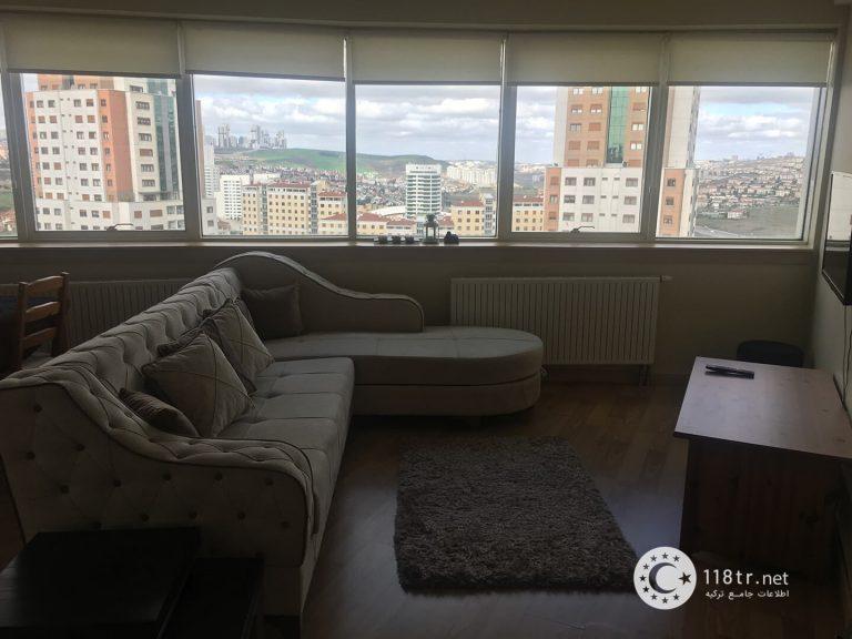 واحد اجاره ای تک خواب، ۵۰ متری، با امکانات کامل، در باهچه شهیر استانبول