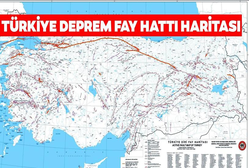 مناطق زلزله خیز ترکیه 3