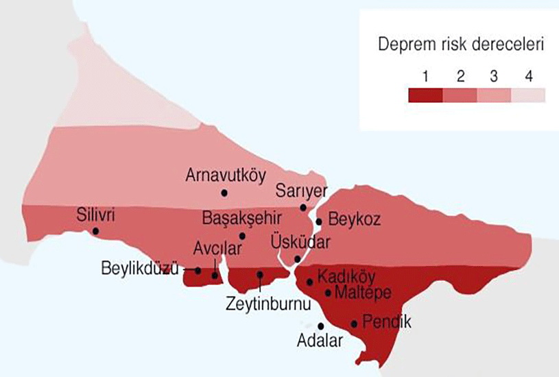 مناطق زلزله خیز ترکیه 6