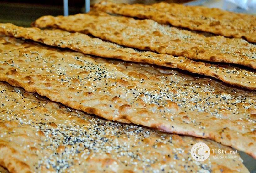 نان سنگک و لواش در ترکیه 2