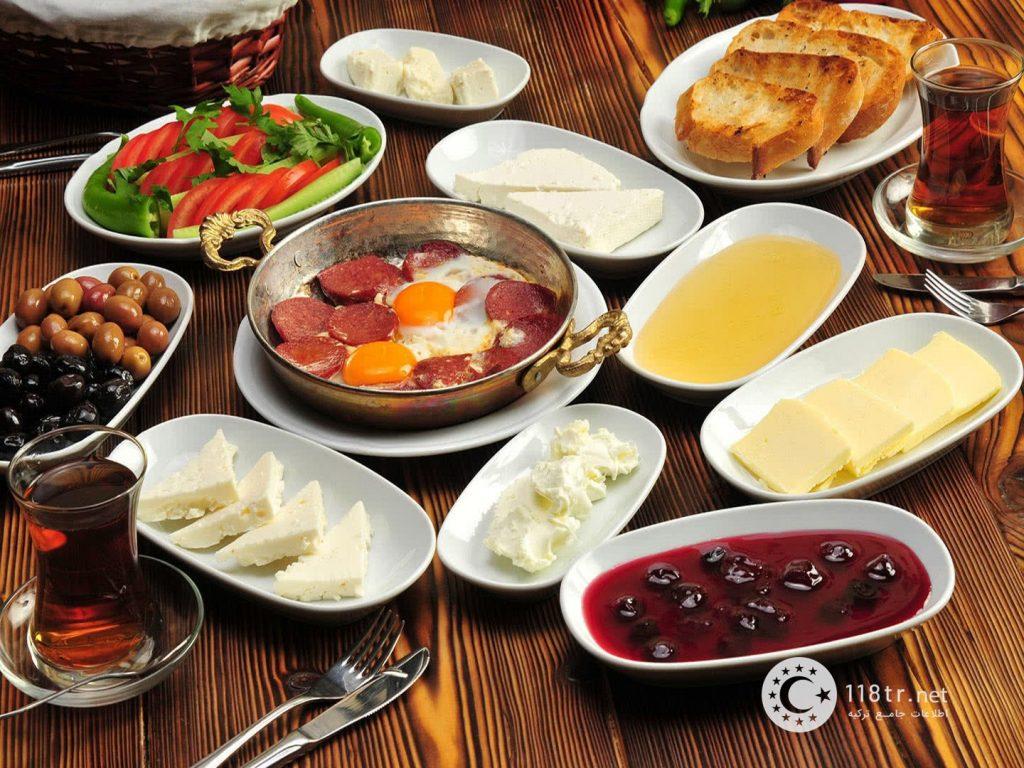 صبحانه های ترکیه 1