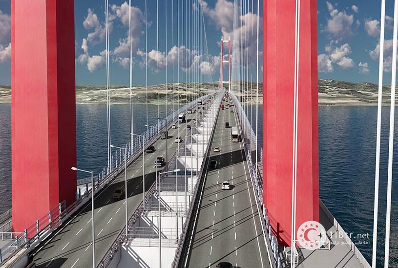 پل چناق قلعه بزرگترین پل کابلی جهان 1