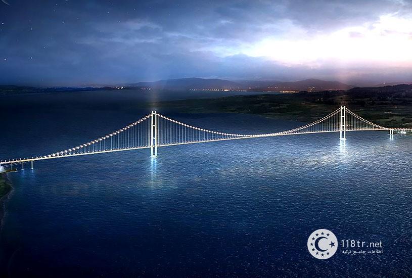 پل چناق قلعه بزرگترین پل کابلی جهان 5