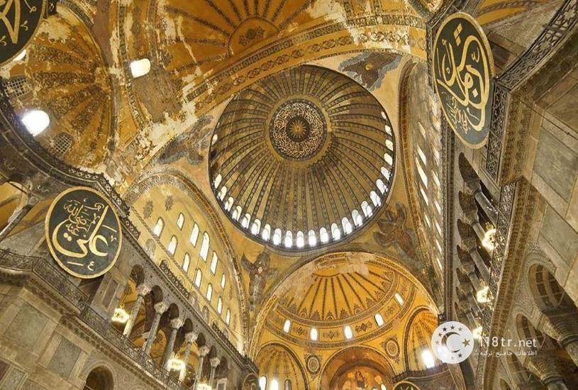 مسجد و موزه ایاصوفیه استانبول 4