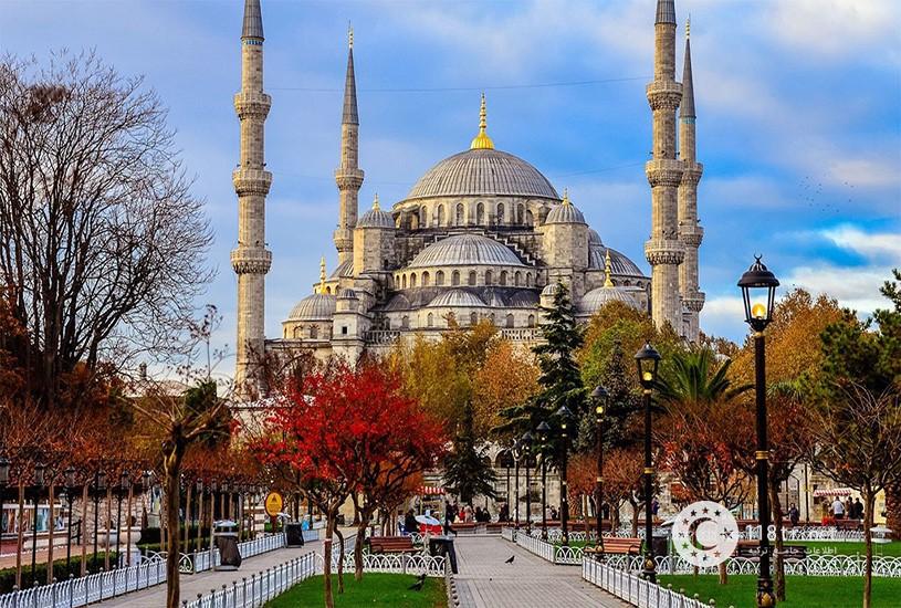 مسجد سلطان احمد استانبول 1