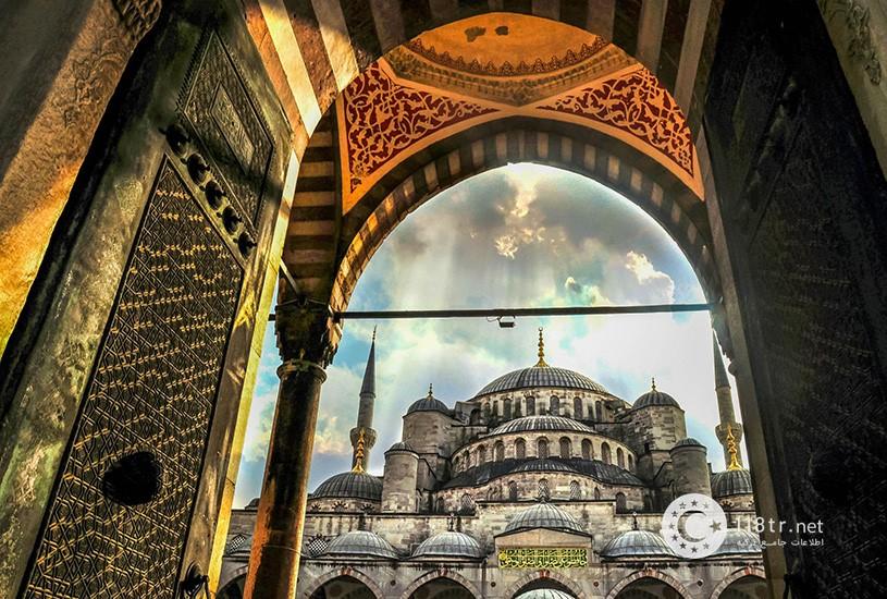 مسجد سلطان احمد استانبول 5