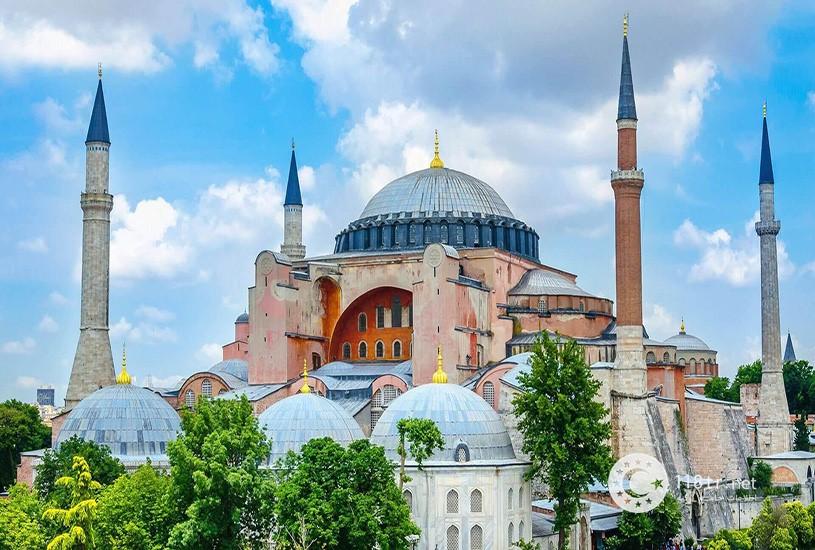مسجد و موزه ایاصوفیه استانبول 9