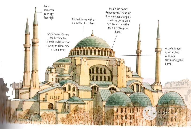 مسجد و موزه ایاصوفیه استانبول 3