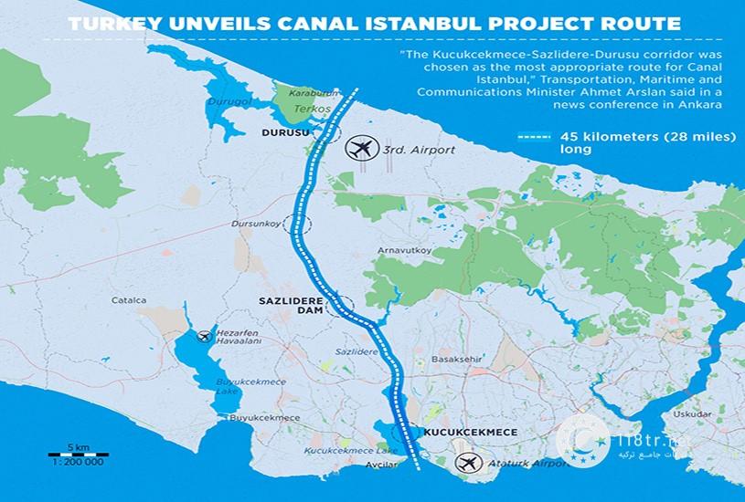 کانال استانبول؛ پروژه عظیم و گران در تاریخ ترکیه 1