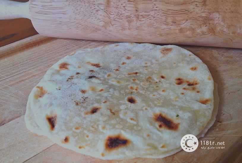 نان سنگک و لواش در ترکیه