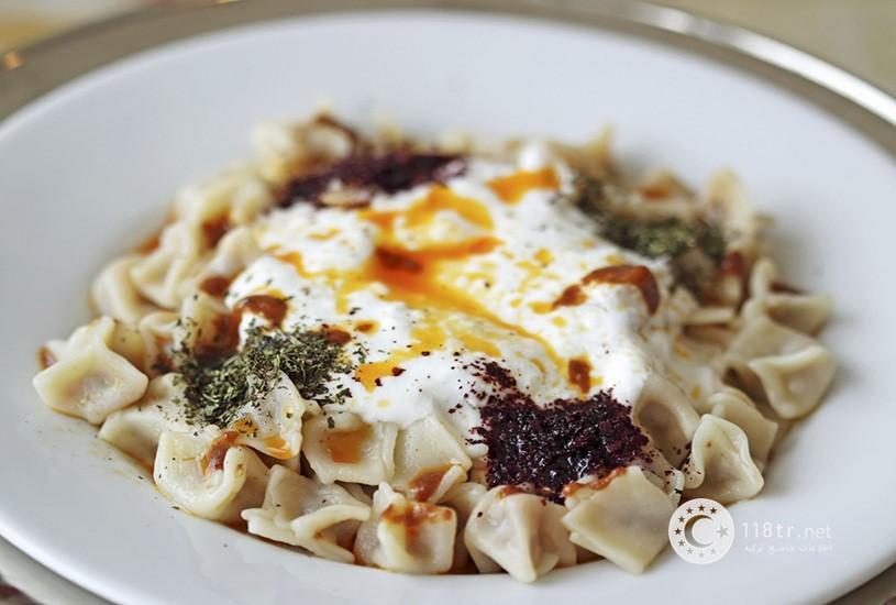 مانتی غذای معروف ترکیه و طرز تهیه آن 2