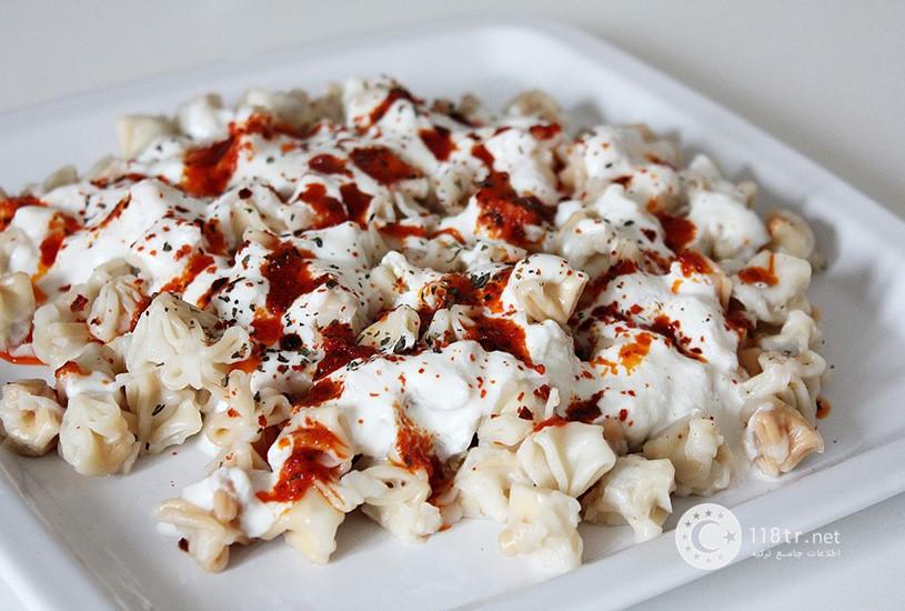 مانتی غذای معروف ترکیه و طرز تهیه آن 1