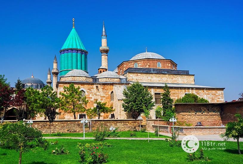 موزه و مزار مولانا در قونیه 3