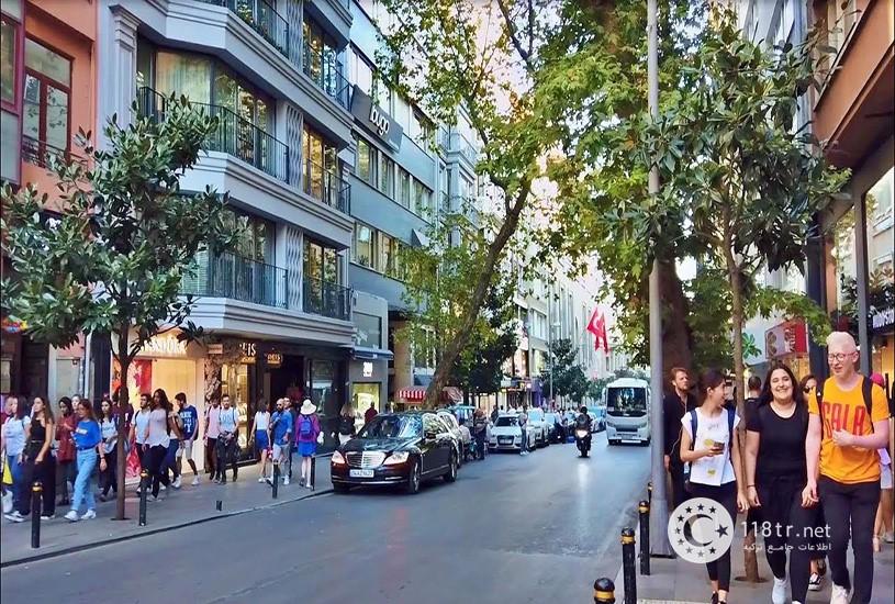 محله معروف نیشانتاشی در استانبول 1