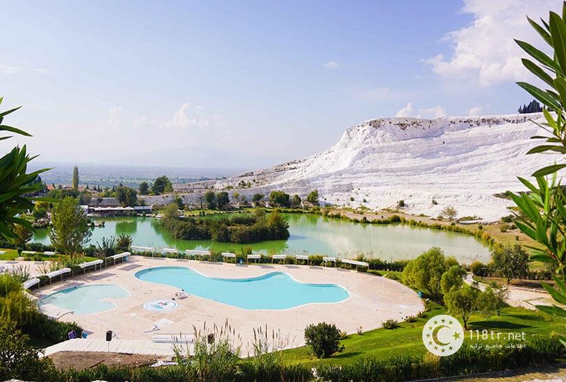 پاموک کاله، طبیعت سفید ترکیه 6
