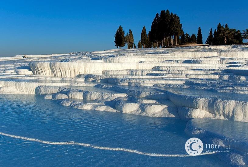 پاموک کاله، طبیعت سفید ترکیه 3