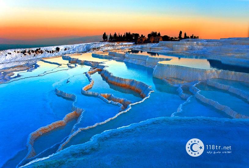 پاموک کاله، طبیعت سفید ترکیه 1