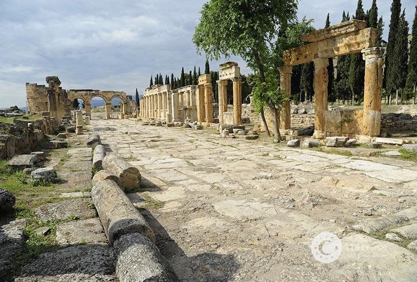 پاموک کاله، طبیعت سفید ترکیه 2