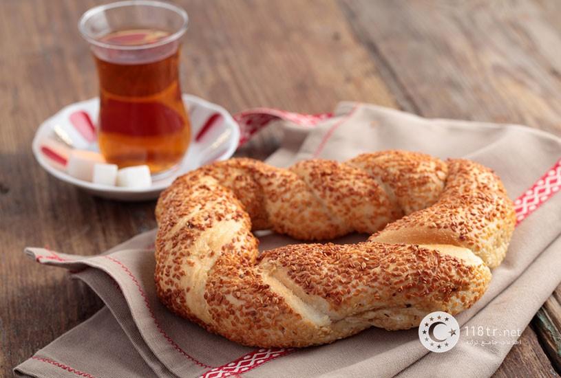 نان سیمیت و طرز تهیه آن 1