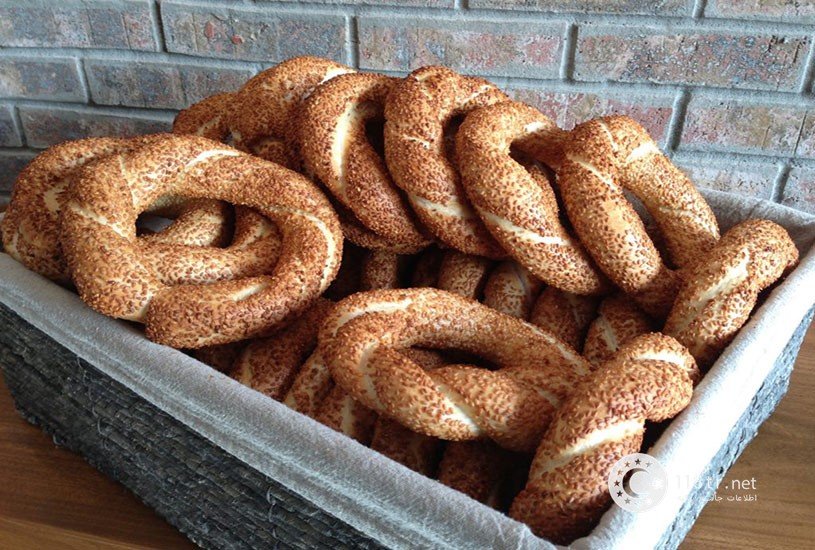 نان سیمیت و طرز تهیه آن 2