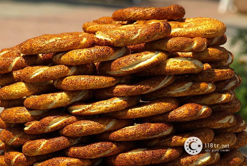 نان سیمیت و طرز تهیه آن 5
