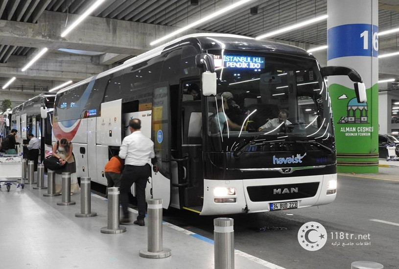چگونه با اتوبوس به فرودگاه استانبول برویم؟ 3