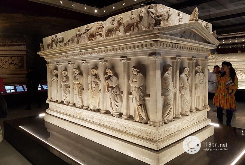 نمایی از موزه باستان شناسی استانبول