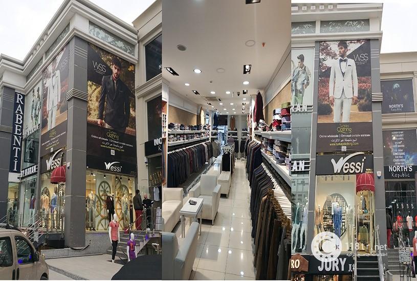 بازار عمده پوشاک استانبول 2