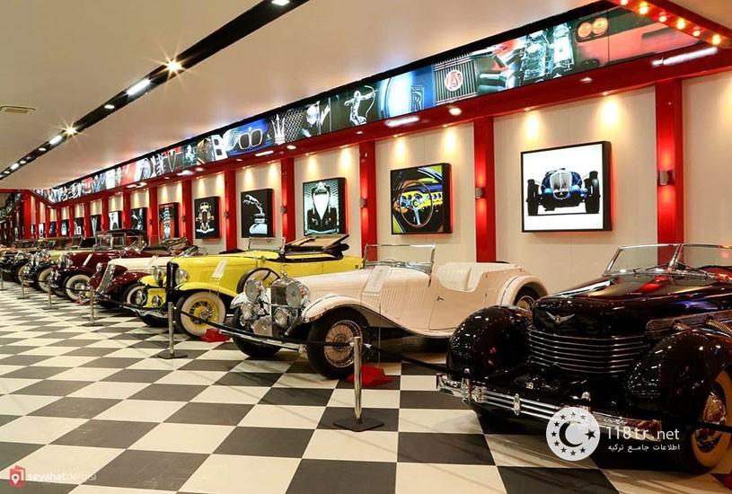 موزه کی ازمیر بزرگترین موزه اتومبیل ترکیه 2