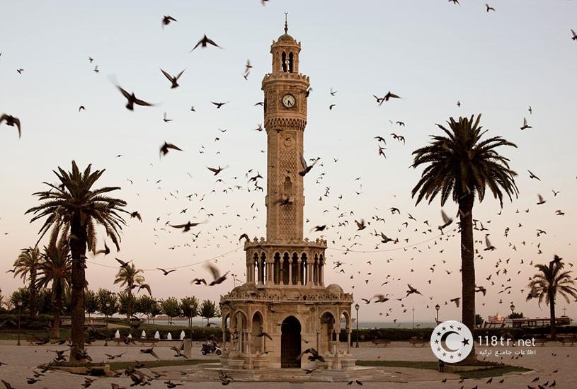 میدان کناک و برج ساعت ازمیر 3