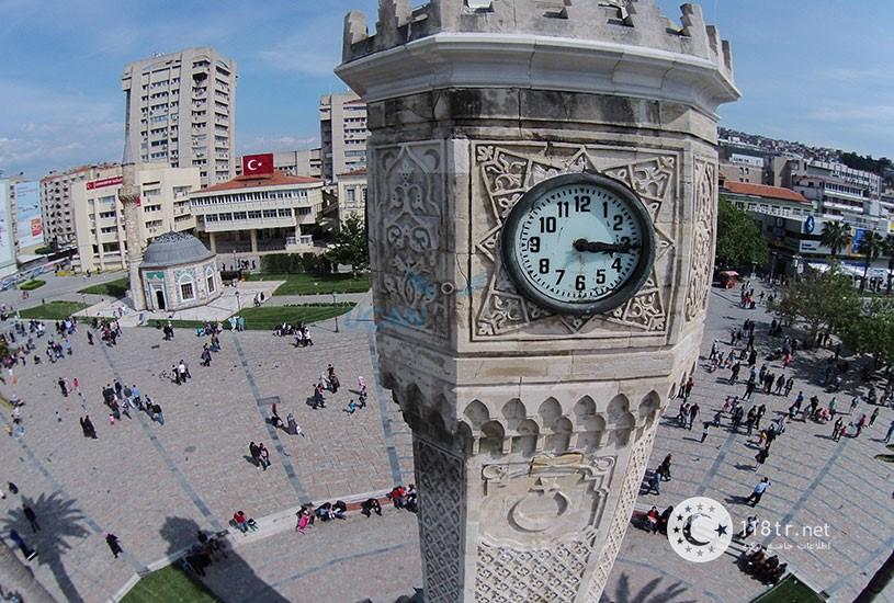 میدان کناک و برج ساعت ازمیر 4