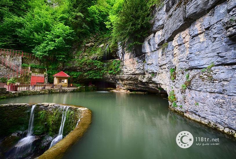 غار چال ترابزون دومین غار طولانی ترکیه 2