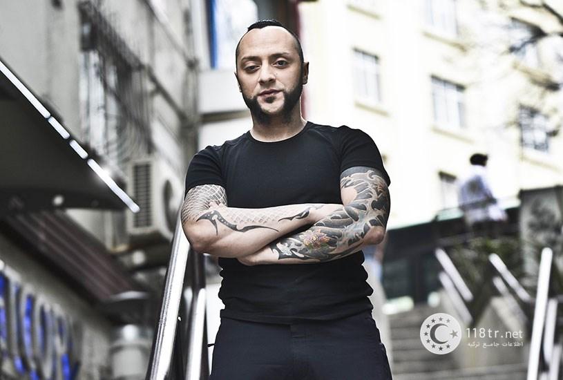 هایکو جپکین خواننده راک و متال ترکیه 5