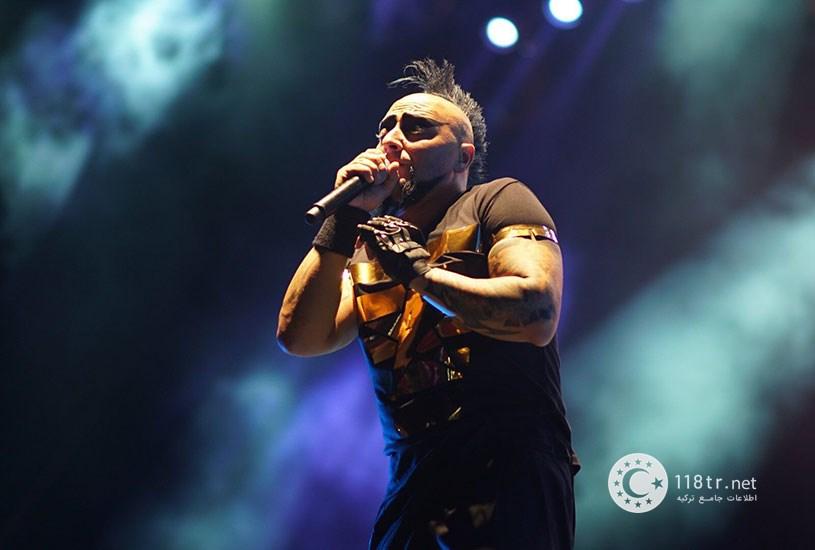 هایکو جپکین خواننده راک و متال ترکیه 3