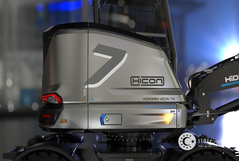 هیکون اولین بیل مکانیکی برقی در جهان 1