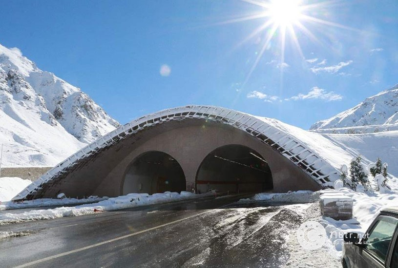تونل اویت بزرگترین تونل ترکیه 2