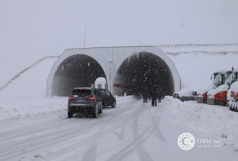 تونل اویت بزرگترین تونل ترکیه 3