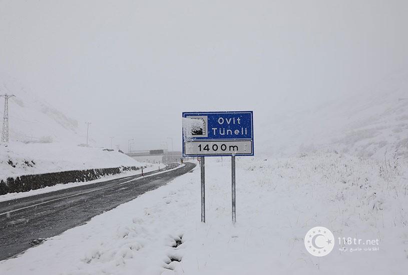 تونل اویت بزرگترین تونل ترکیه 4