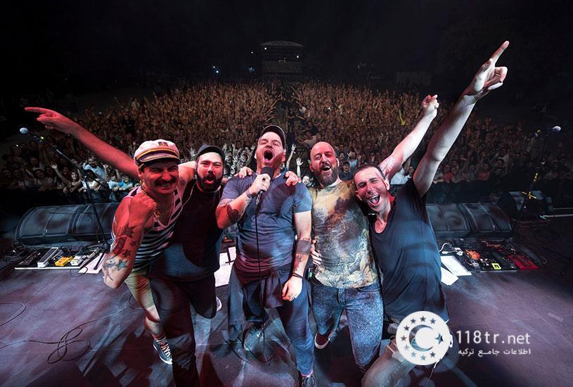 مشهورترین گروه های راک ترکیه 7