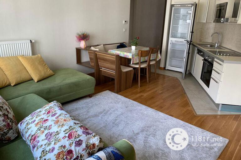 واحد اجاره ای، یک خوابه، ۶۰ متری در اسن کنت استانبول