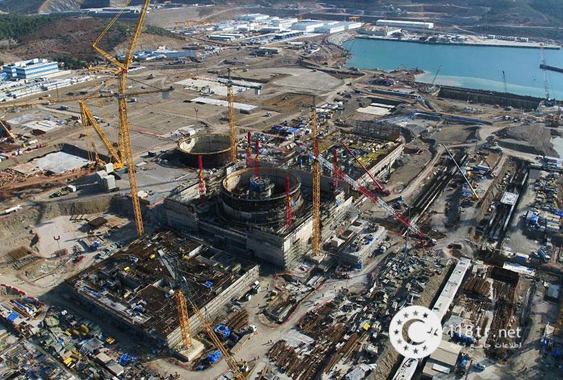 نیروگاه اتمی آککویو ترکیه (Akkuyu) 1